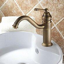 Bad Mischbatterie Wasserhahn Messing Becken