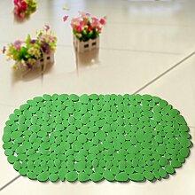 Bad nicht-slip mat,pvc wasserdicht von mat,dusche fußauflage-D 35x67cm(14x26inch)