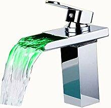 Bad Sink Wasserhahn LED Wasserhahn Bad Mit