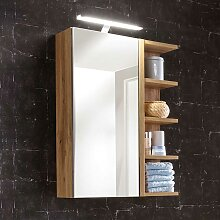 Bad Spiegelschrank mit seitlichem Regal