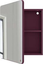 Bad Spiegelschrank - Tom Tailor S - Violett