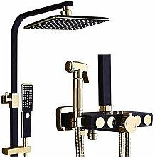 Bad-Thermostat-Duschset Bad-Dusche Dusche Kupfer