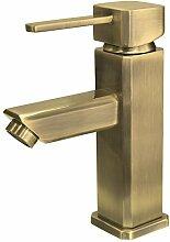 Bad Waschbecken Waschtisch Einhebel Armatur Mixer Wasserhahn Bronze