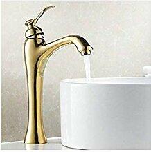 Bad Waschbecken Wasserhähne Gold Einlochmontage