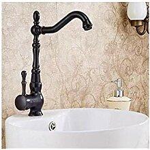 Bad Waschbecken Wasserhähne Poliert Schwarz