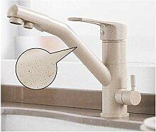 Bad Waschbecken Wasserhahn Messing Doppelgriff mit