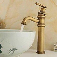 Bad Wasserhahn Antike gebürstete Waschbecken