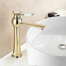 Bad Wasserhahn Becken Wasserhahn mit Messing WC