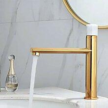 Bad Wasserhahn Gold Und Weiß Becken Wasserhahn