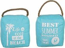 Bada Bing 2er Set Türstopper Beach Summer Seil