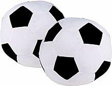 Bada Bing 2er Set Türstopper Fußball Ball Sack