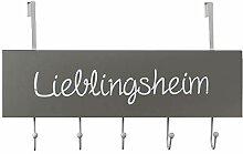 Bada Bing Garderobenhaken Türhaken Lieblingsheim
