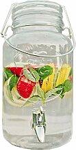 Bada Bing Getränkespender 4l aus Glas mit