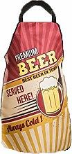 Bada Bing Grillschürze Premium Beer Männerschürze Küchenschürze Vintage BBQ Grillen 3104