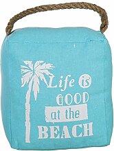 Bada Bing Türstopper Beach Summer Seil Sack Stopper Türsack Türdämpfer Vintage Sommer