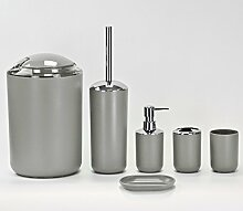 Badaccessoires-Set aus Kunststoff - 6-tlg -