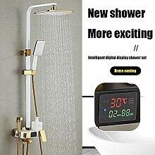 Badarmatur Duschventil Kupfer Wasserhahn Duschset