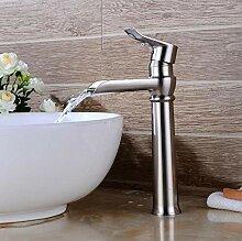 Badarmatur, Waschbeckenarmatur aus reinem Kupfer