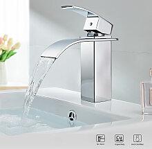 Badarmatur Wasserfall Bad Wasserhahn