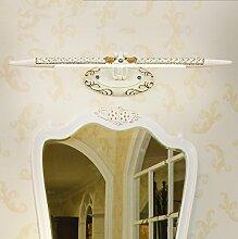 Badbeleuchtung Wasserdicht und Antibeschlag Led Badezimmer Spiegel-Front-Lampe Einfache Retro Dresser Spiegelschrank Spiegellampen Wandbeleuchtung YANGFF-Spiegellampen