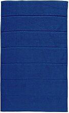 Badematte Aquanova Adagio Denim Blau-Badematte (60 x 100 cm)
