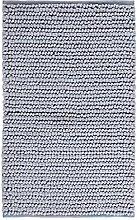 Badematte Aquanova Cesar Hellgrau-Badmat (60 x 60 cm)