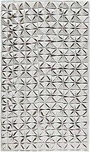 Badematte Aquanova Origami Hellgrau-Badematte (60 x 100 cm)