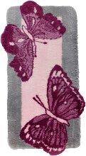 Badematte Aurora, rosa (Vorleger für Stand-WC 50/50 cm)
