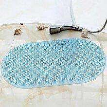 Badematte Bad Rutschfeste Matte PVC Oval Mit
