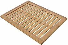 Badematte Bambus Holz Tür Matte Küche Badezimmer