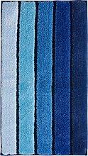 Badematte Diana, blau (Vorleger für Hänge-WC 45/50 cm)