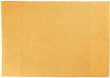 Badematte Duo, 50x70cm (BxL), gelb