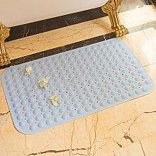 Badematte, Dusche Badewanne, Saugnapf, Big Foot Massage Pad, Badezimmer Badezimmer Mat Mat, wasserdicht, 40 cm * 100 cm, 48 cm * 48 Cm, Hellblau