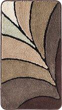 Badematte Estelle, braun (Badematte rund Ø 75 cm)