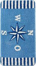 Badematte Fabian, blau (Badematte 70/110 cm)