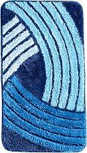 Badematte Finja, blau (Vorleger für Hänge-WC 45/50 cm)