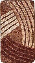 Badematte Finja, braun (Vorleger für Stand-WC 45/50 cm)