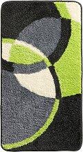 Badematte Hudson, grün (Duschvorlage halbrund