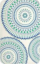 Badematte Ibiza, Memory Schaum, blau (Vorleger