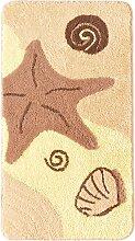 Badematte Jane, beige (Vorleger für Stand-WC 45/50 cm)