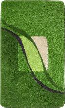 Badematte Jolie, grün (Vorleger für Stand-WC 45/50 cm)