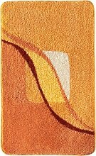 Badematte Jolie, orange (Vorleger für Hänge-WC 45/50 cm)