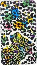 Badematte Leopard, schwarz (Vorleger für Hänge-WC 45/50 cm)
