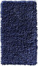 Badematte Lisa, blau (Badteppich rund Ø 75 cm)