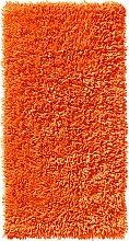 Badematte Lisa, orange (Vorleger für Stand-WC 45/50 cm)