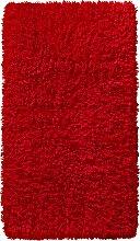 Badematte Lisa, rot (Badematte 80/150 cm)
