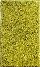 Badematte Madras, grün (Vorleger für Stand-WC 45/50 cm)