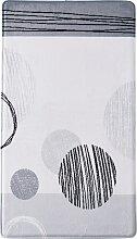 Badematte Marie, Memory Schaum, grau (Vorleger für Stand-WC 45/50 cm)