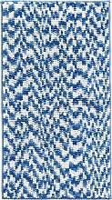 Badematte Melina, blau (Vorleger für Stand-WC