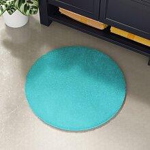 Badematte Mertz Zipcode Design Farbe: Türkis